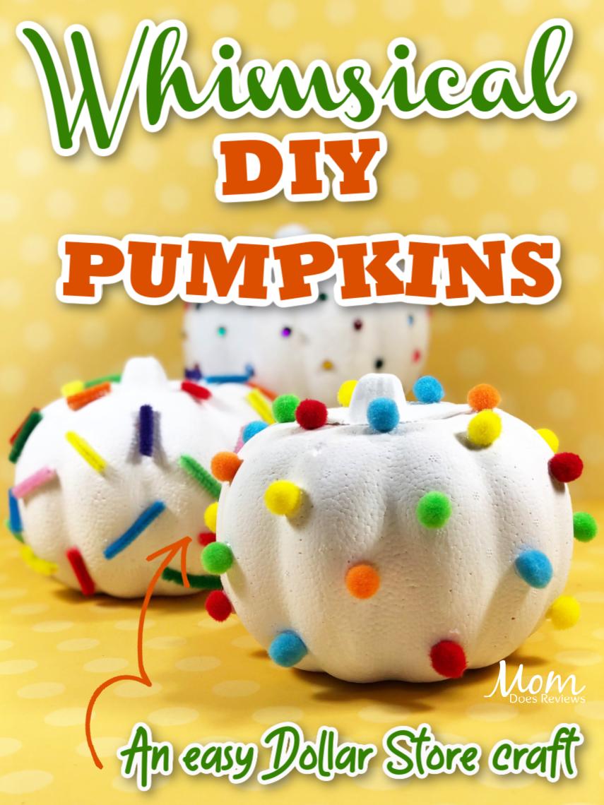 Whimsical Dollar Store Pumpkin Craft