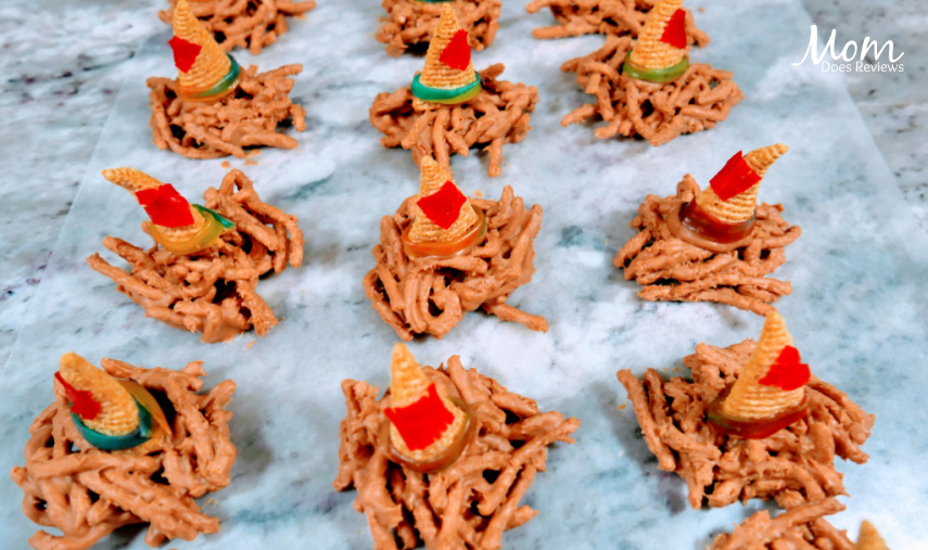 Silly Scarecrow Butterscotch Hat Snacks