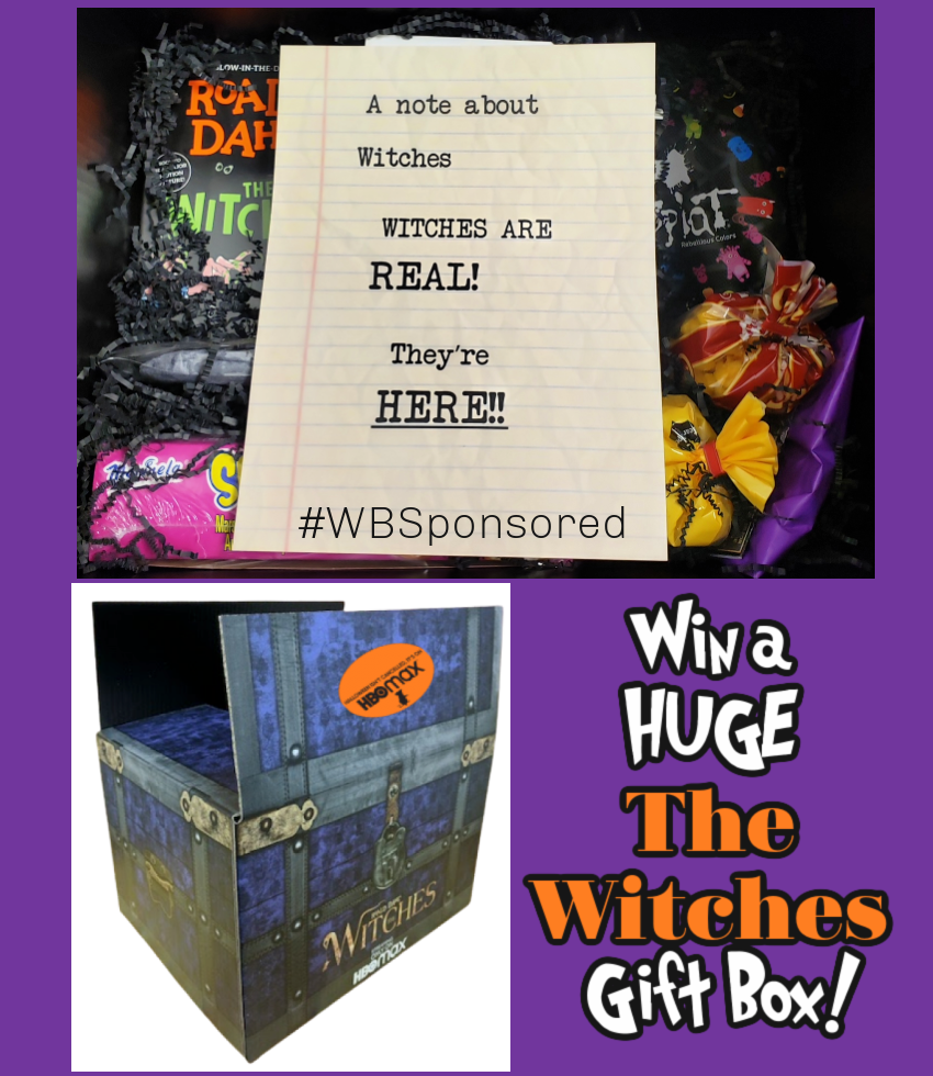 #Win Roald Dahl's The Witches Gift Box! US, ends 11/2 #WBSponsored #TheWitchesMovie