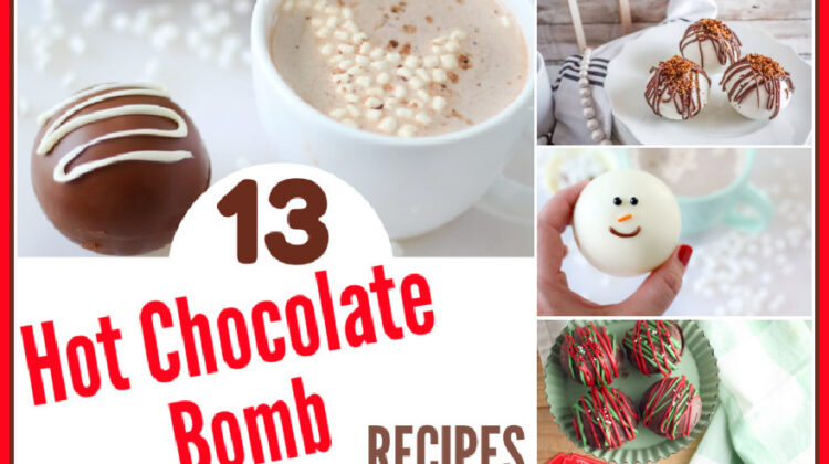 13 Hot Chocolate Bomb Recipes You NEED To Try Today