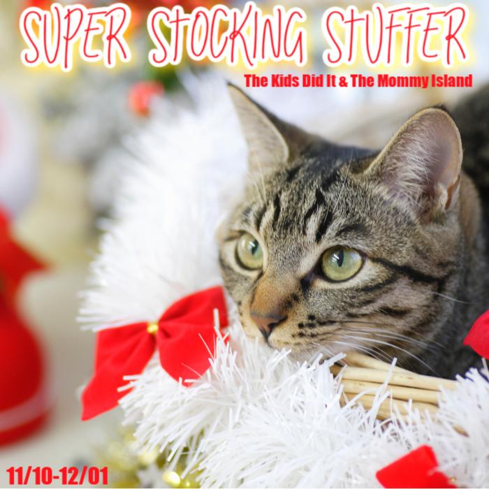 #SuperStockingStuffer Giveaway hop! #Holiday2020