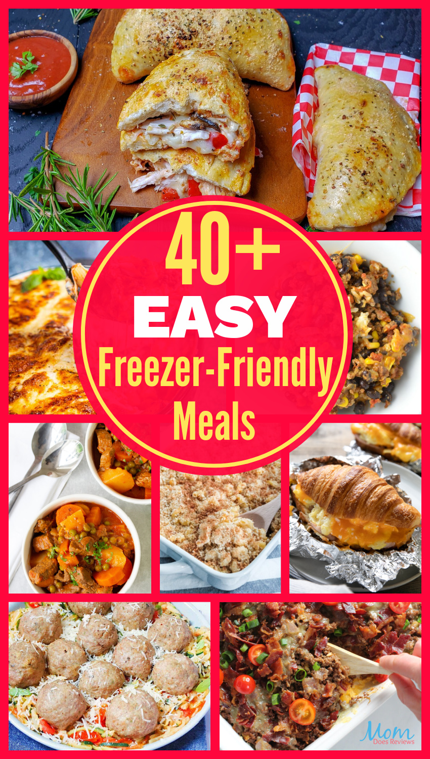 40+ Easy Freezer-Friendly Meals You Can Make Ahead #recipes #easymeals #foodie