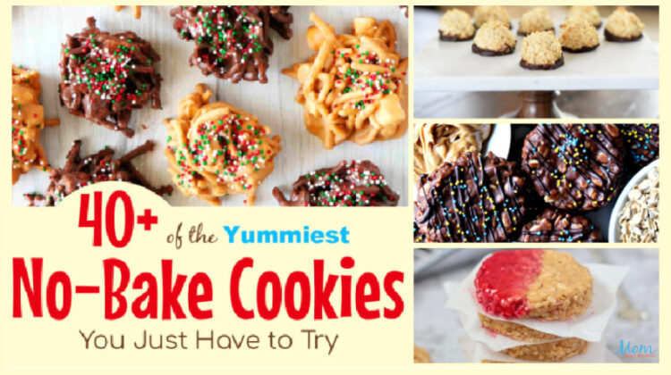 40+ Easy AND Yummy No-Bake Cookies