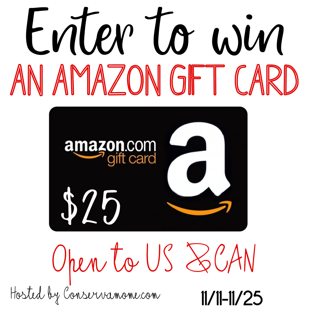 #Win $25 Amazon GC= Get ready for #ChristmasShopping