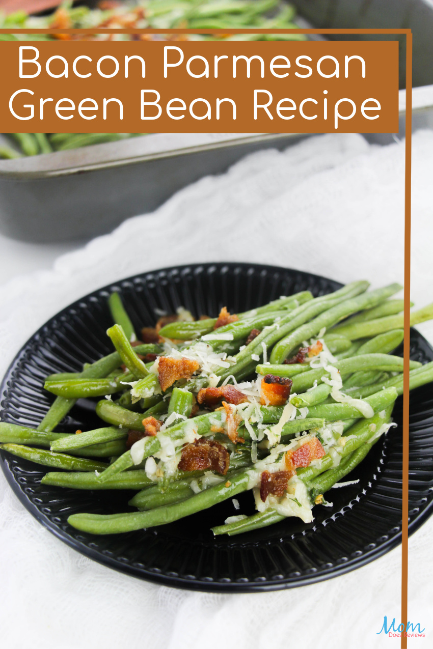 Bacon Parmesan Green Bean #Recipe #crackrecipe #sidedish