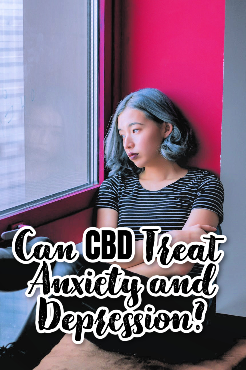 Can CBD Treat Anxiety and Depression?