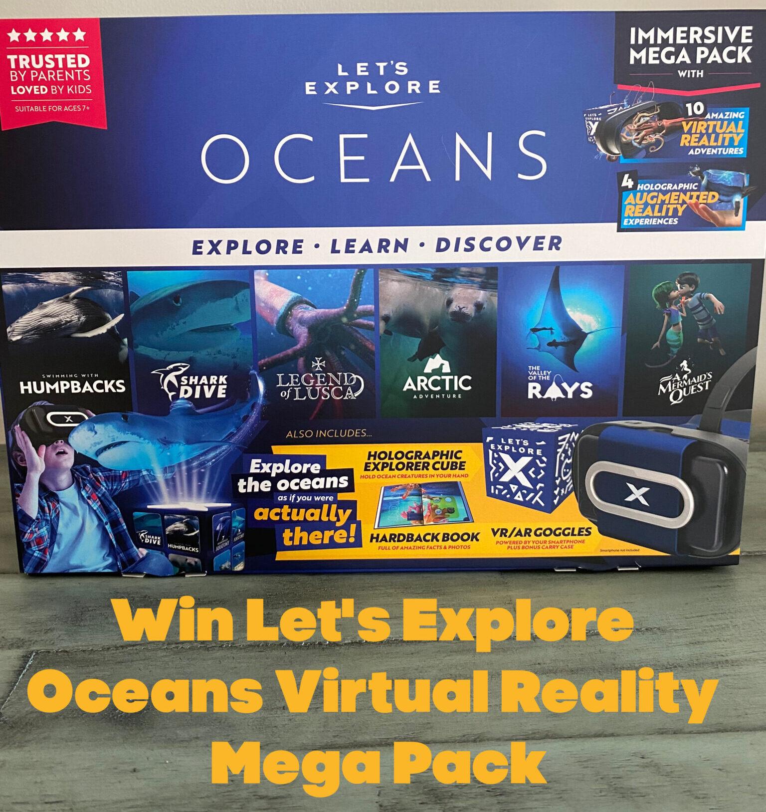Let's Explore Oceans button