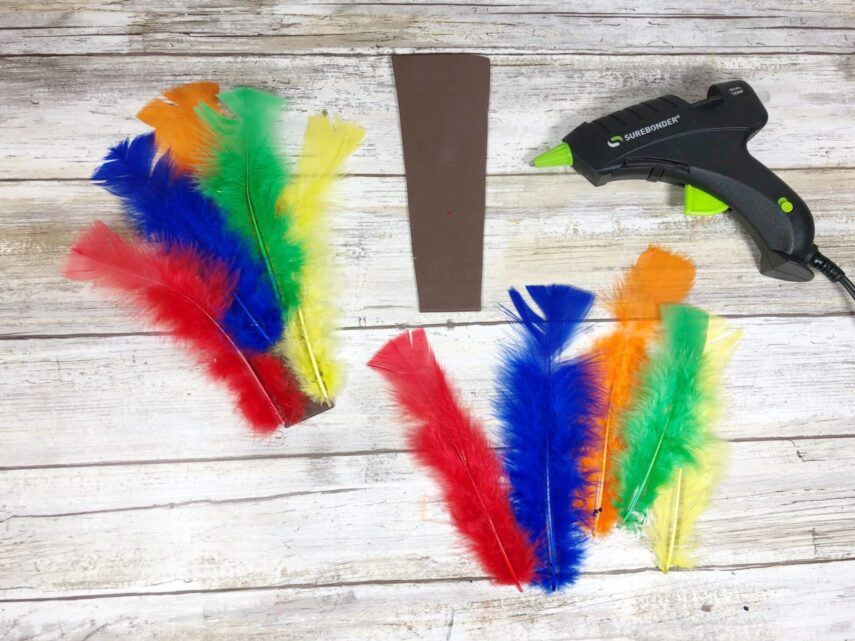 Pool Noodle Turkey Craft- another Dollar Store Craft