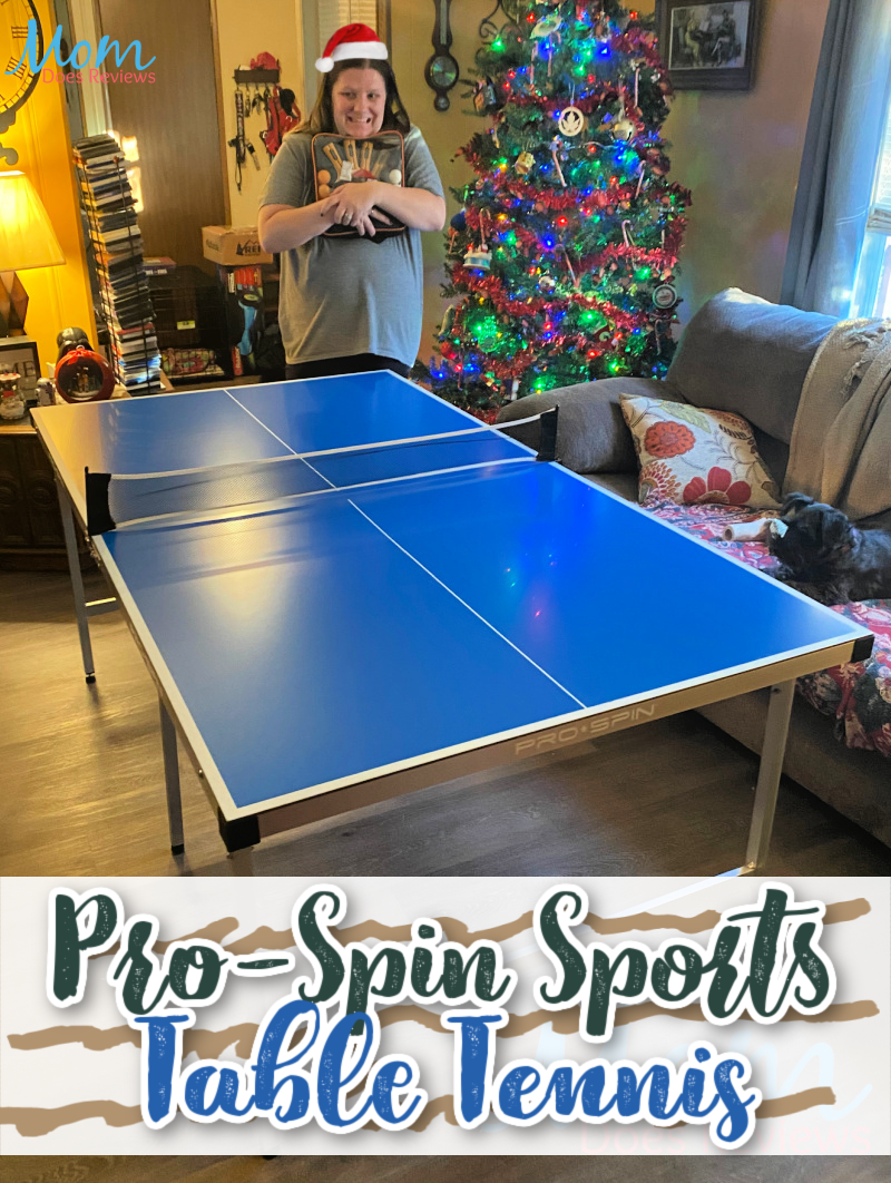 Have fun with Pro-Spin Sports Table Tennis for Christmas #MegaChristmas20