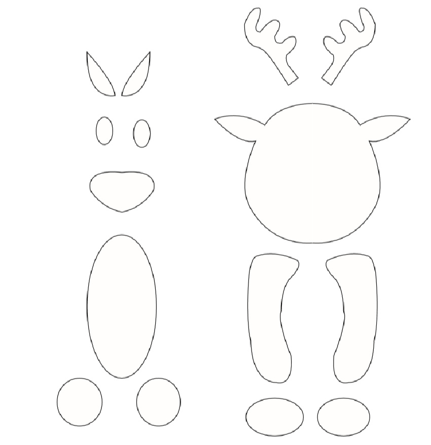 Toilet Paper Roll Reindeer Craft pdf