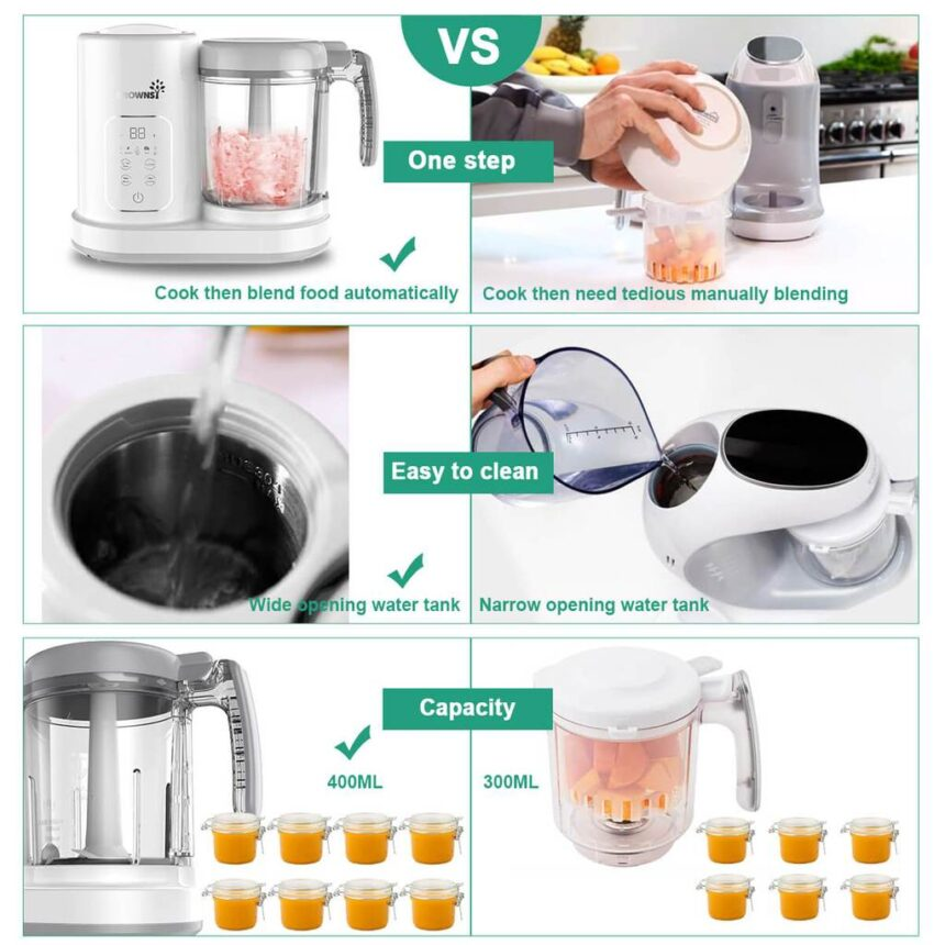 Multifunctional Baby Food Processor