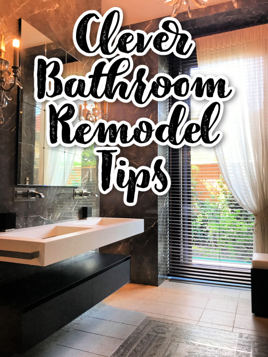 Clever Tricks To Give Your Bathroom A Luxurious Look