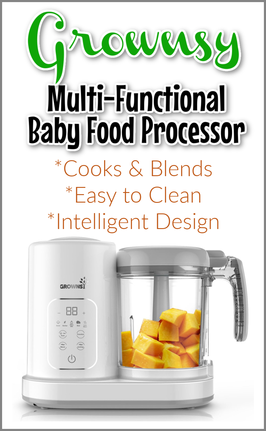 Multifunctional Baby Food Processor #MegaChristmas20