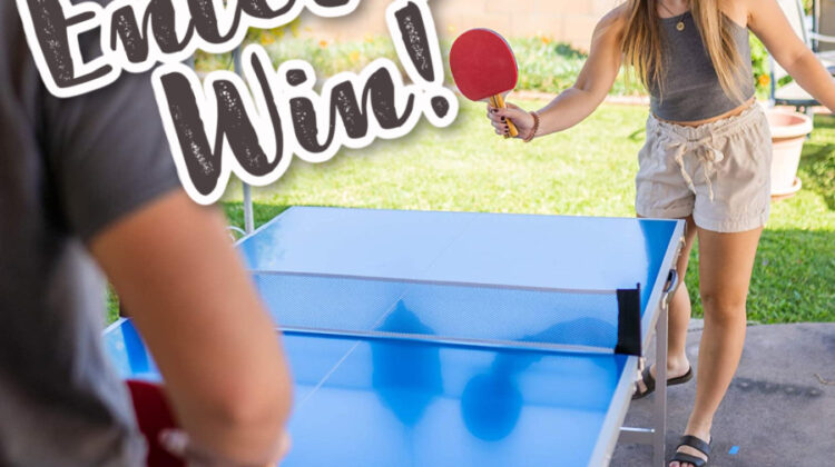 Enter to #win a Pro-Spin Sports Table Tennis for Christmas #MegaChristmas20