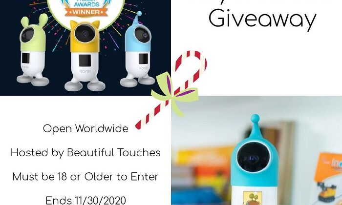 #Win Roybi Robot $199 arv! Open WW, ends 11/30
