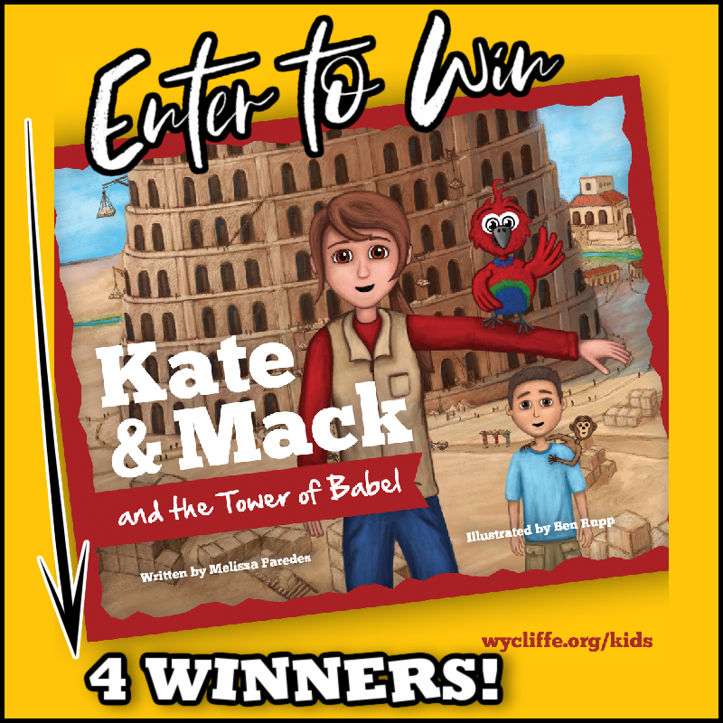 Book Giveaway- 4 #Winners- Kate & Mack and the Tower of Babel