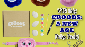 #Win The Croods: A New Age Prize Pack! #CroodsNewAge