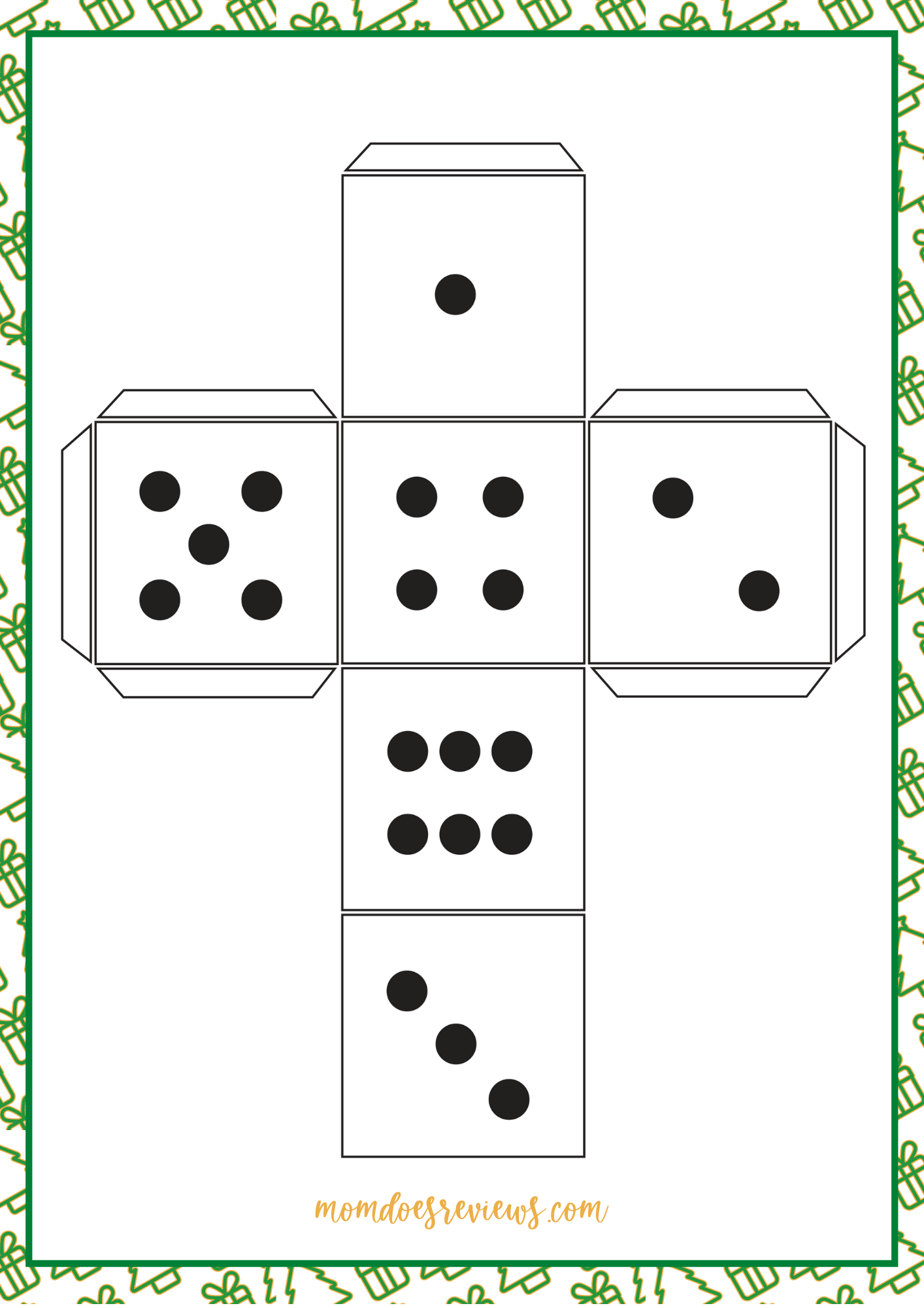 Christmas Tre Games - The Dice