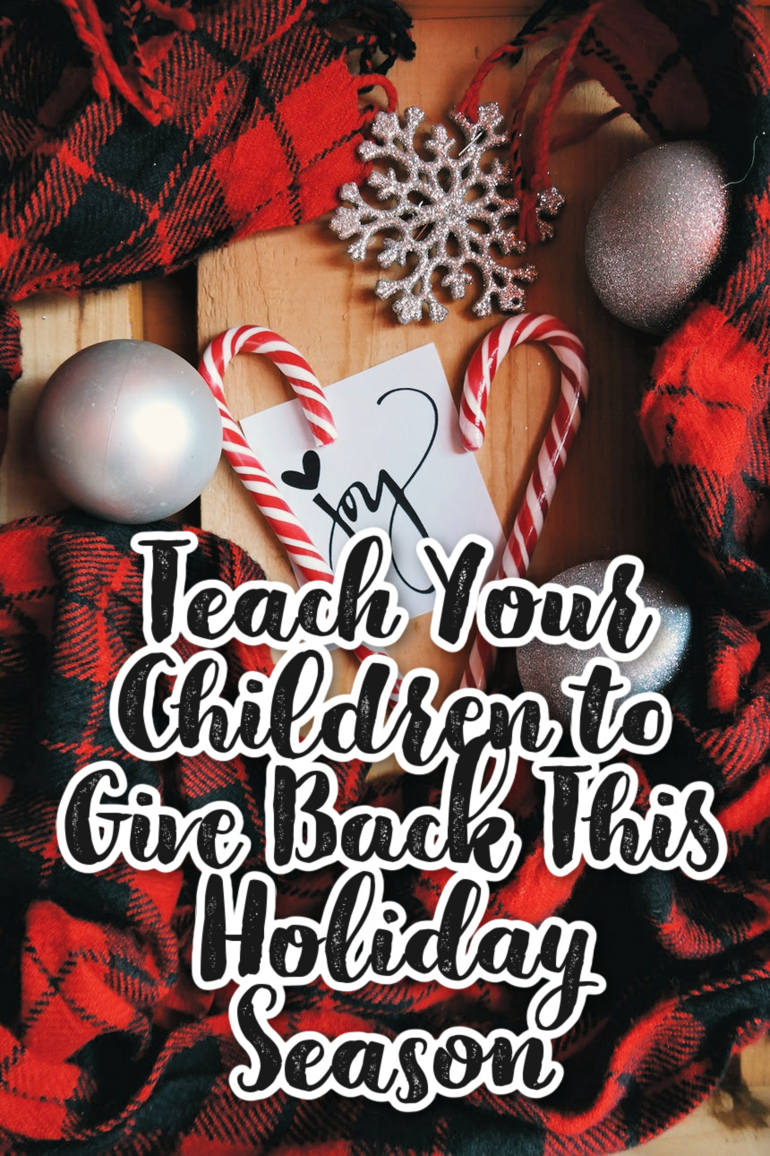 How to Get Your Children Involved in Service This Holiday Season