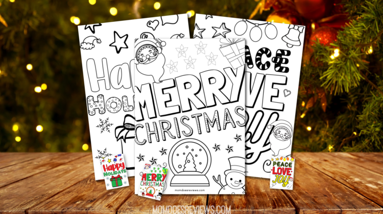 Keep Kids Busy with Christmas Coloring Pages!