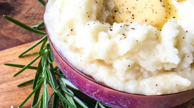 Instant Pot® Rosemary Garlic Mashed Potatoes