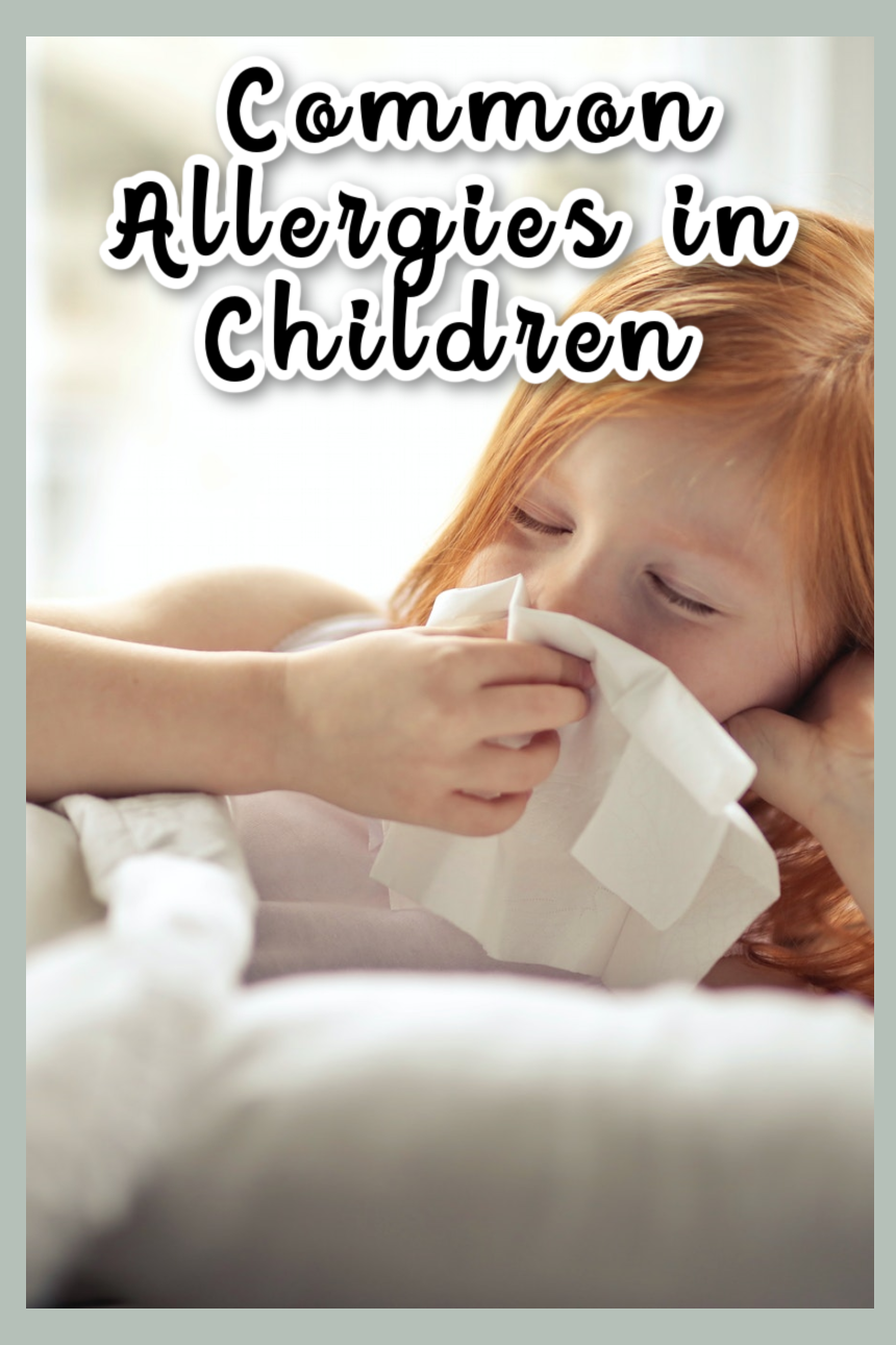 Look Out for Common Allergies in Children