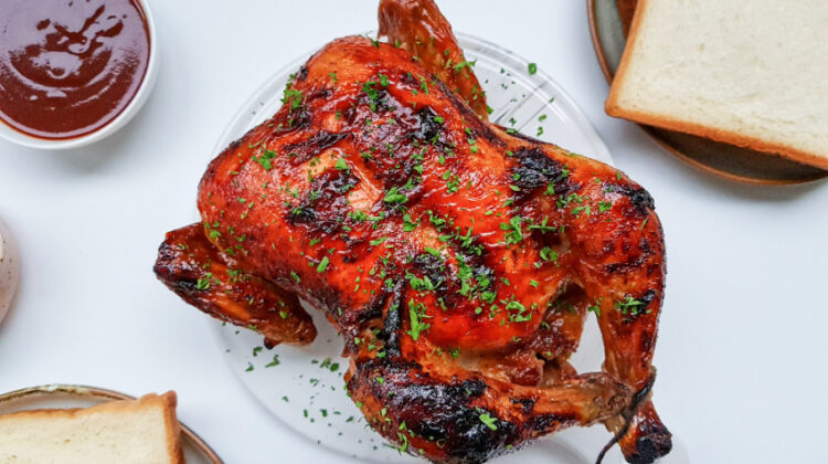 Oven-Roasted BBQ Chicken Recipe