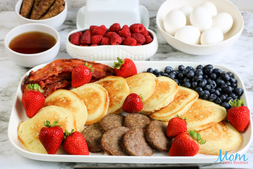 Pancake Breakfast Board- Perfect for the Holidays!