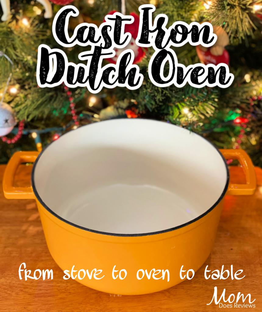 Versatile Cast-Iron Dutch Oven #MegaChristmas20