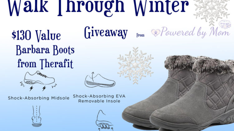 #Win Therafit Barbara Women's Winter Boots $130 arv!