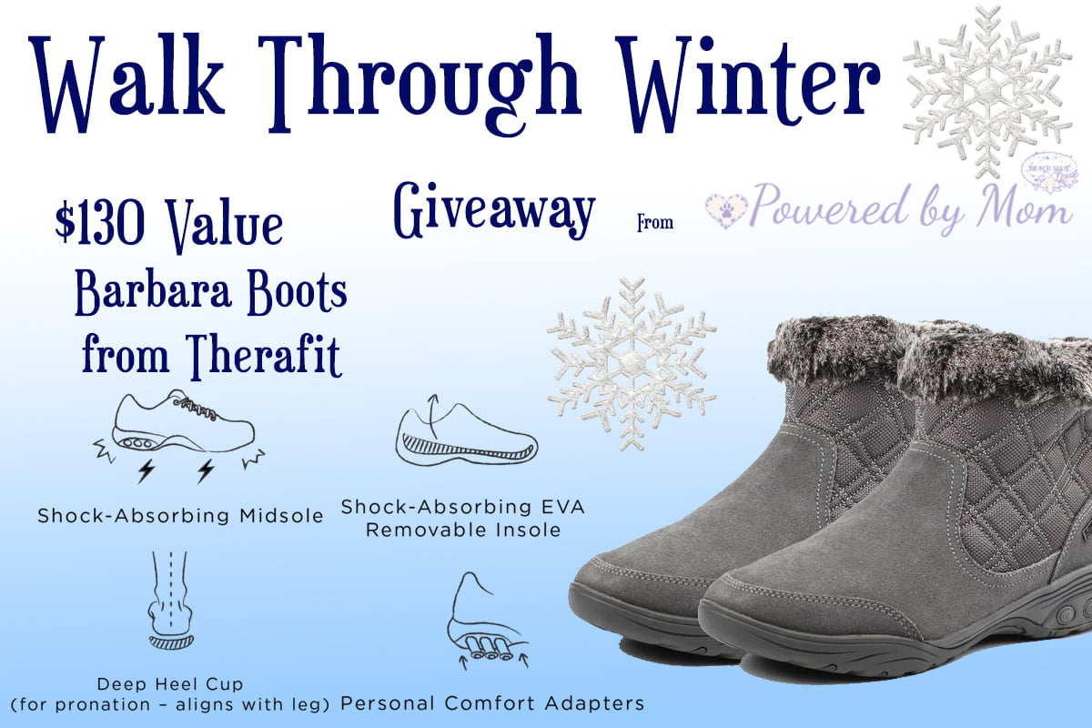 #Win Therafit Barbara Women's Winter Boots $130 arv!