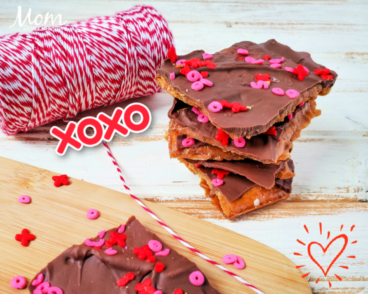 Easy Valentine's Chocolate Bark