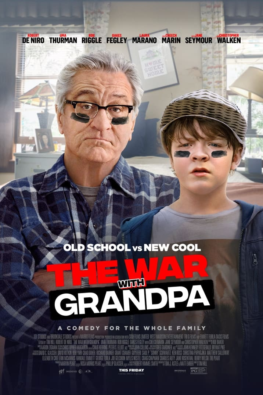 #Win THE WAR WITH GRANDPA Blu-ray Combo Pack! #WarWithGrandpa