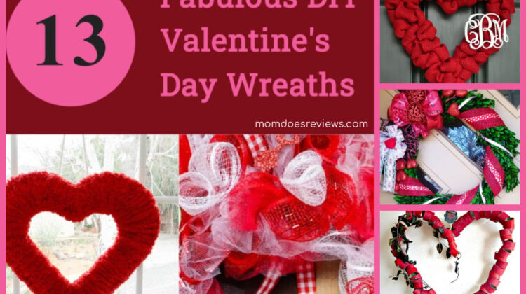 13 Fabulous DIY Valentine's Day Wreaths to Show Your Love