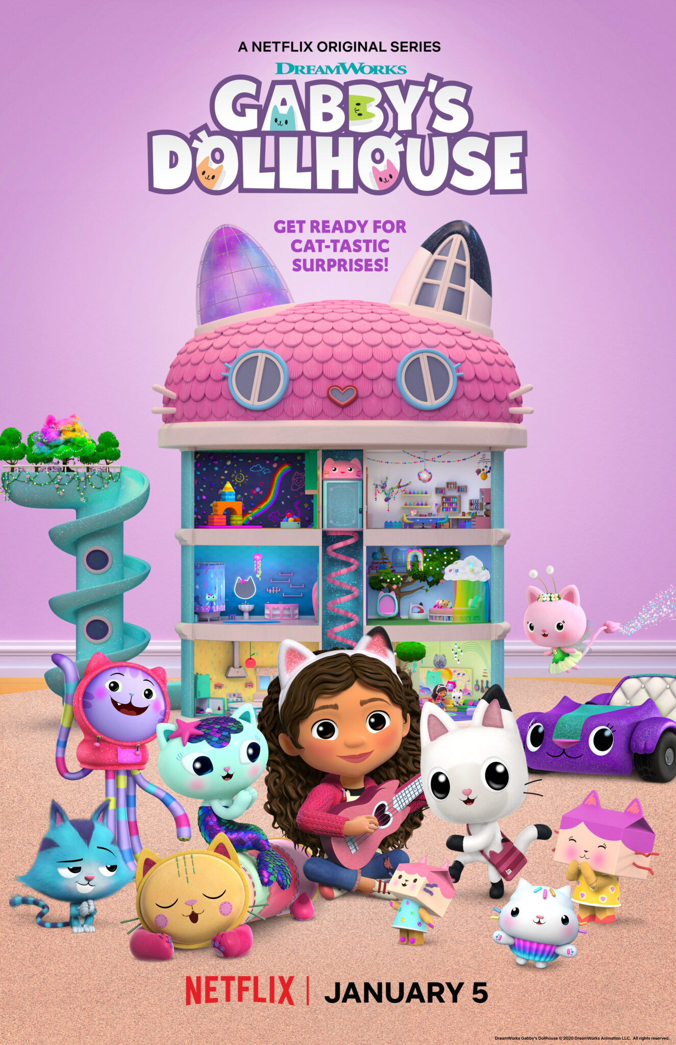 Get Crafty with Gabby! DreamWorks Gabby's Dollhouse is now streaming exclusively on Netflix