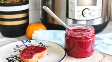Instant Pot Orange Pomegranate Jam Recipe