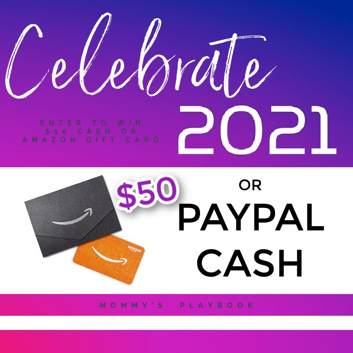 #Win $50 Amazon GC or PayPal Cash!