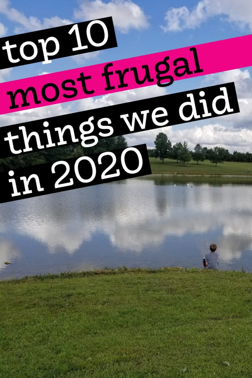 Most Frugal Things We Did In 2020 from Medium Sized Family