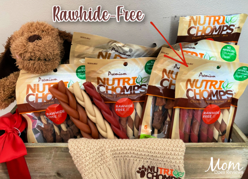 Show Your Pups Love with Rawhide-Free Nutri Chomps #ValentinesGifts2021