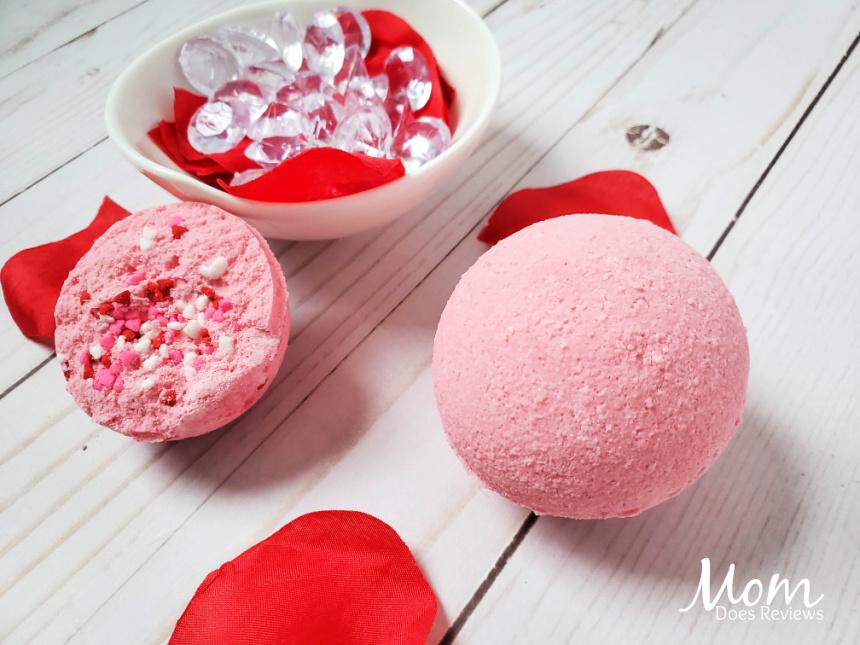 Pink Sprinkle Explosion Bath Bombs