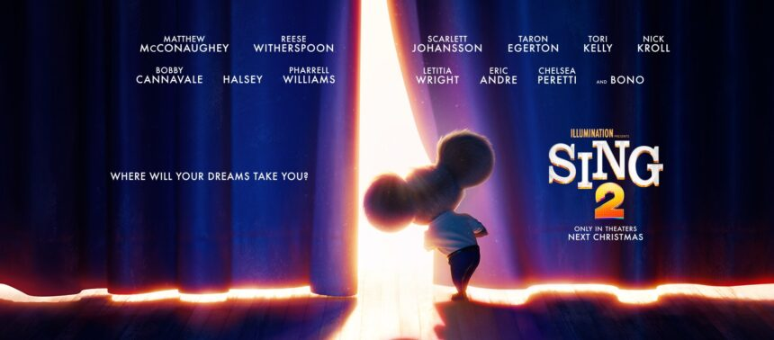 Get Excited for SING 2- New Poster and Cast Announcements #Sing2