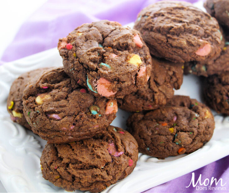 Chocolate Unicorn Cookies
