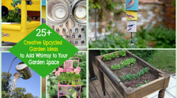 25+ Creative Upcycled Garden Ideas to Add Whimsy to Your Garden Space
