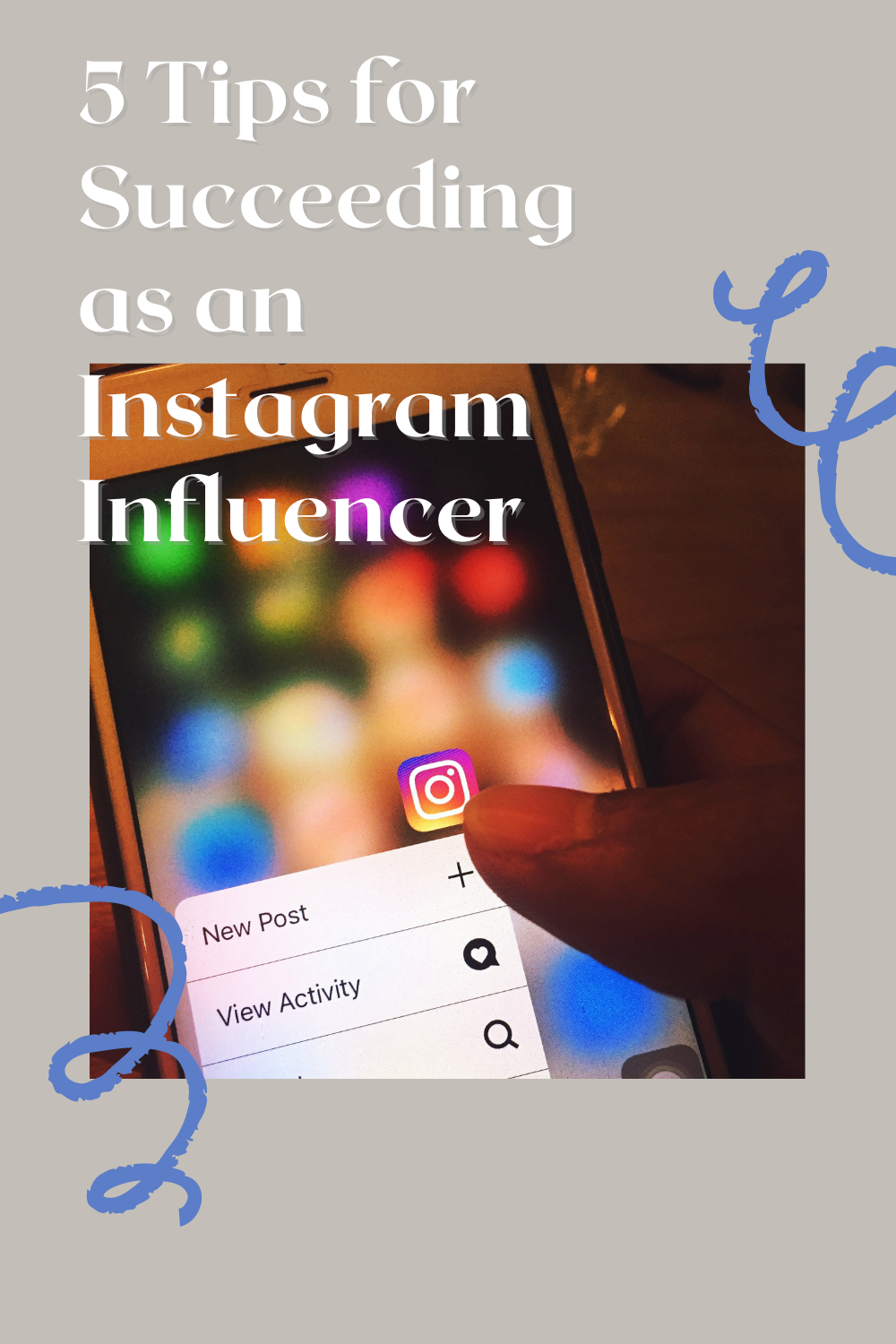 Instagram on your phone