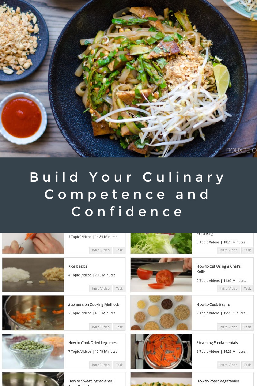 Build Your Culinary Competence and Confidence