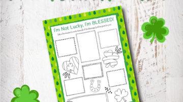 Blessed Gratitude Journal Printable