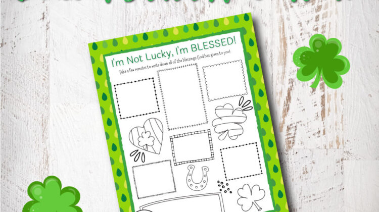 Blessed Gratitude Journal Printable