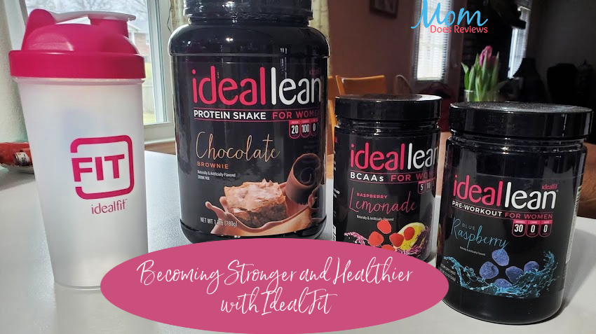 Becoming Stronger and Healthier with IdealFit
