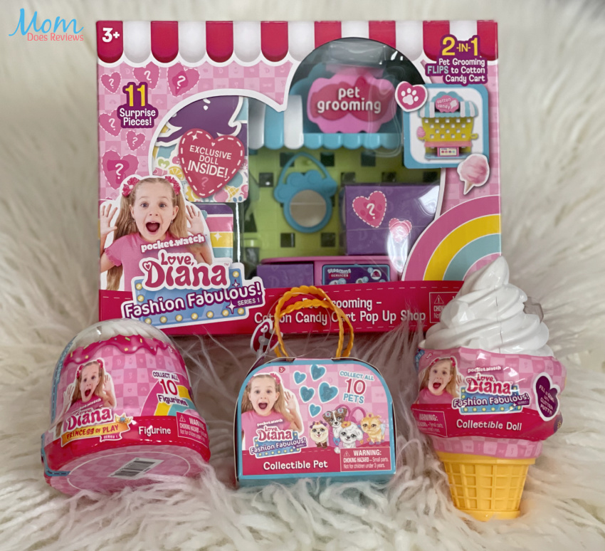 Check Out The Love, Diana Collectible Doll Line For Kids