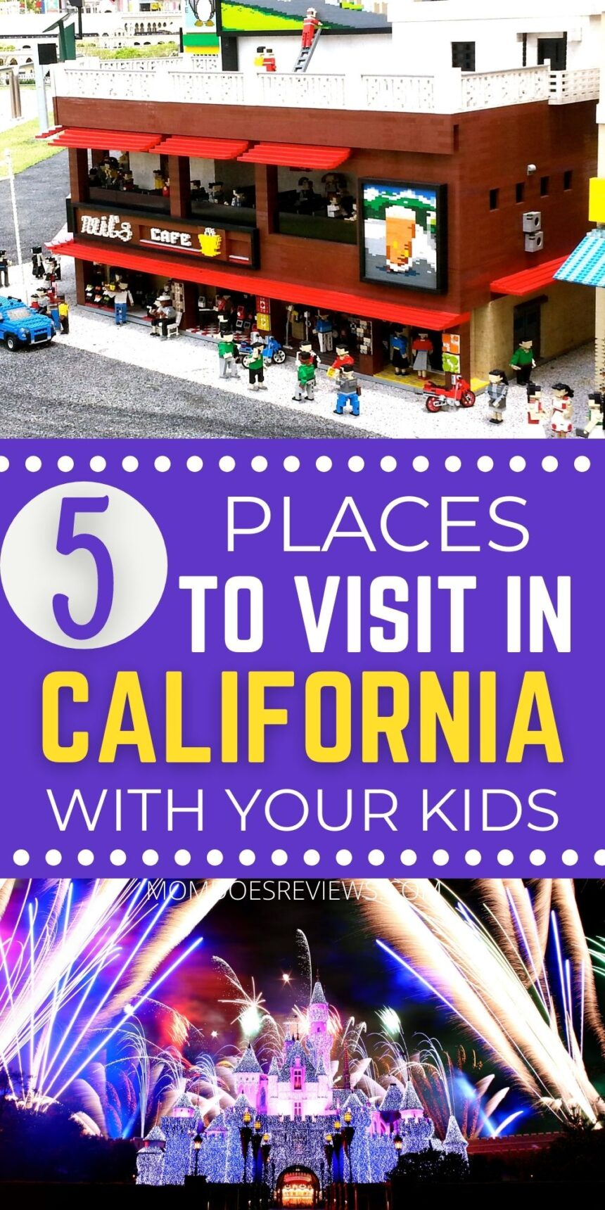 Top 5 Places To Visit in California with the Kids